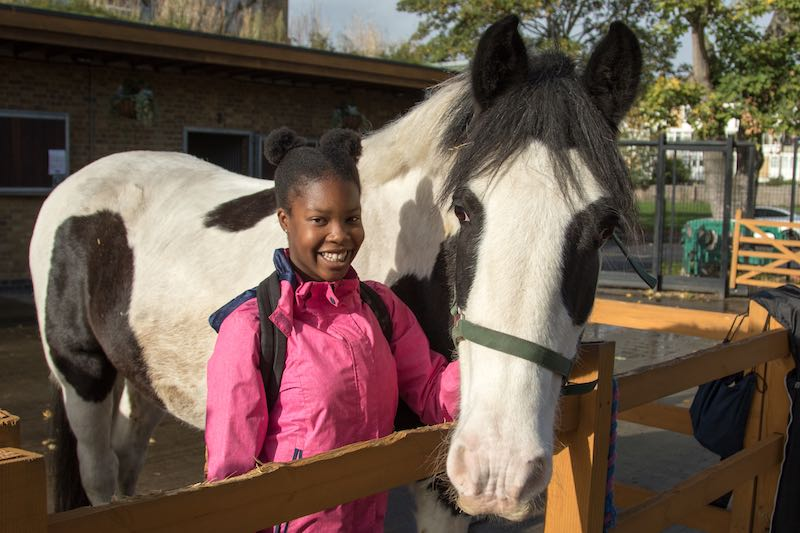 "The Guardian ""Horse power: giving kids the ride of their life"""