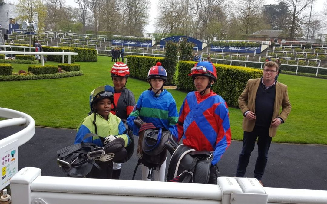 O'Shane wins his first pony race at Ascot